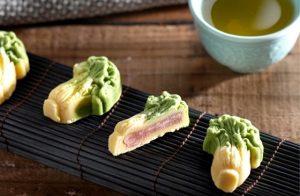 翠玉白菜月餅