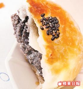 芝麻蘇式月餅