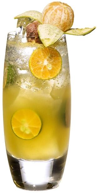 檸檬金桔氣泡水