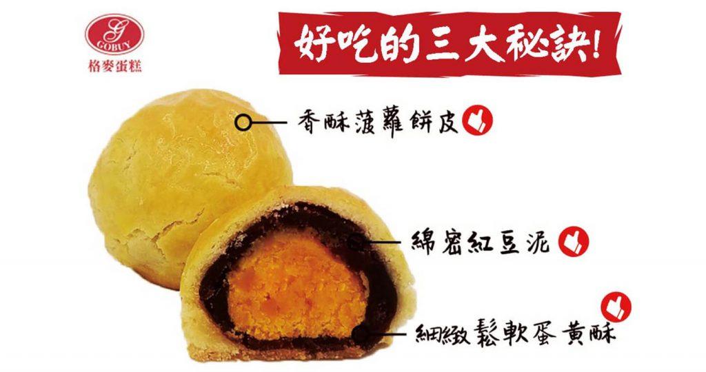 【格麥蛋糕】菠蘿蛋黃酥禮盒