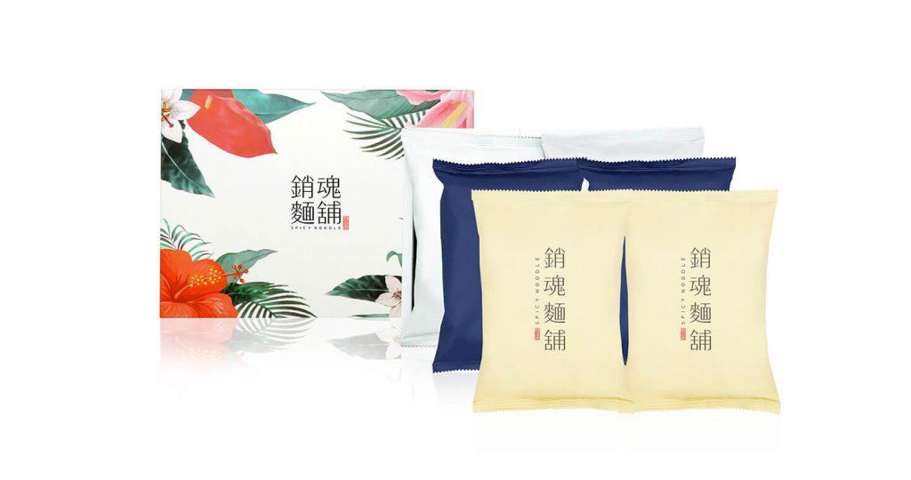 【台灣即食麵】大師兄 銷魂麵舖 - 銷魂麵舖禮盒(粗麵+細麵)