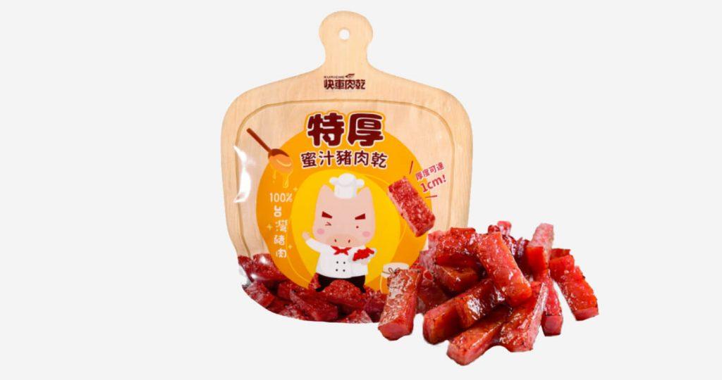 【快車肉乾】招牌特厚豬肉乾