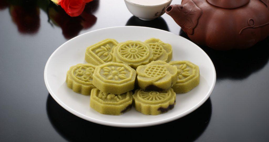 【李亭香】翠玉綠豆糕